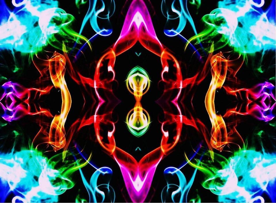 Rainbow Smoke Hallucinations ... (Click to enlarge)
