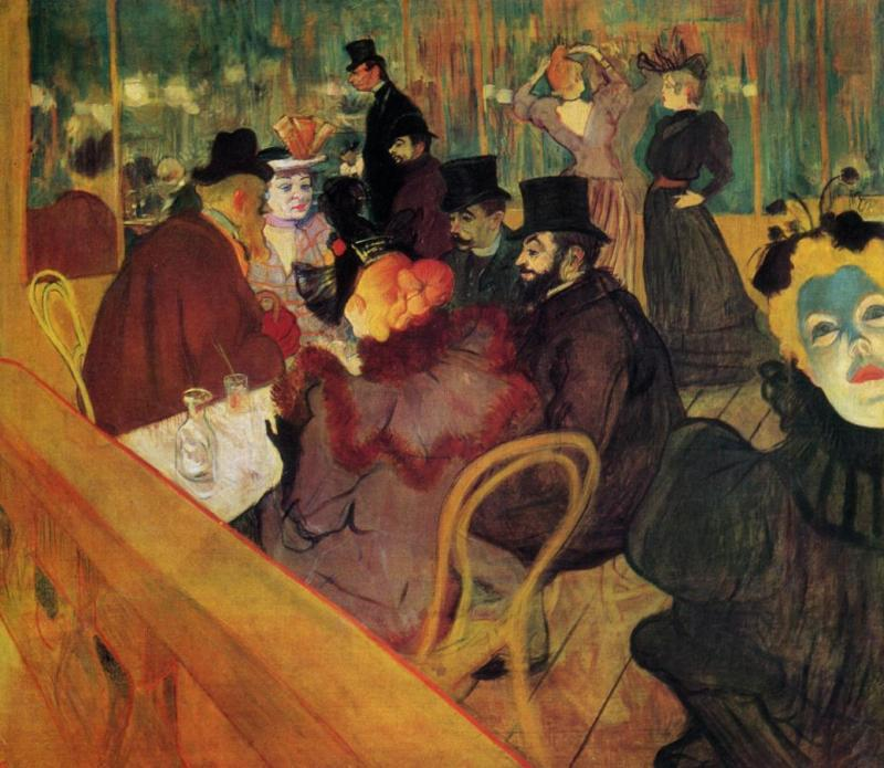 art history news montmartre by toulouse lautrec and