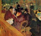 Toulouse Lautrec Au Moulin Rouge ... (Click to enlarge)