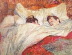Toulouse Lautrec The Bed