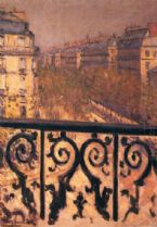 A Balcony In Paris 1881 Gustave Caillebotte