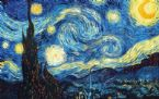 De Sterrennacht 1889 van Vincent Van Gogh