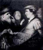 De zin van het kijkglas van Rembrandt Van Rijn