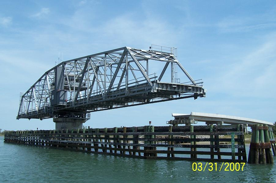 Rotating Bridge on ICW N C ... (Click to enlarge)
