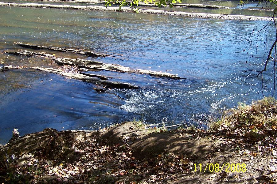 Natural Dam Sweetwater Creek