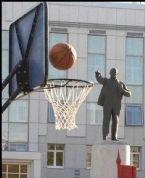 Good basket shot