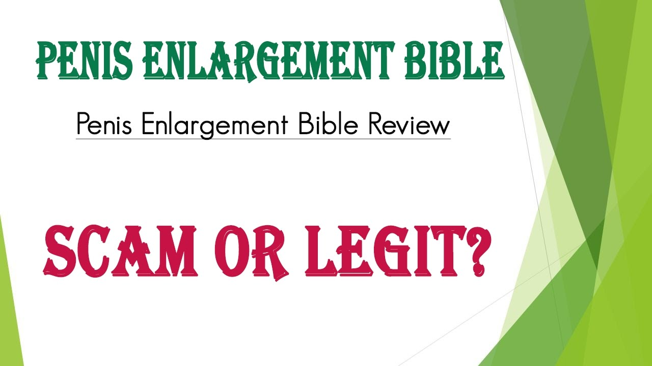 penis enlargement bible bio chemicals