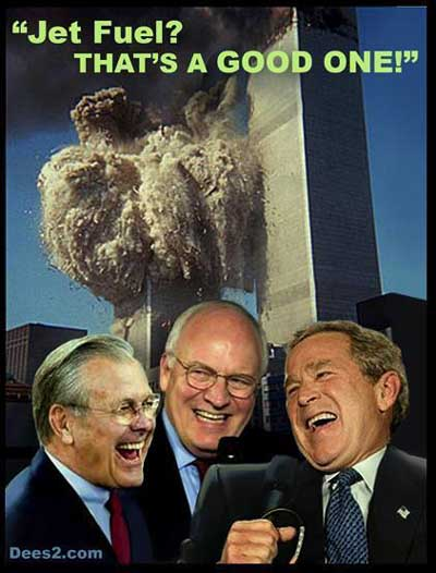 bush 911 jetfuel wtc laff ... (Click to enlarge)