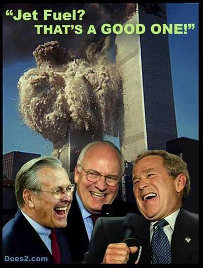 bush 911 jetfuel wtc laff ... (Click to enlarge)