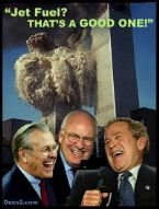 bush 911 jetfuel wtc laff