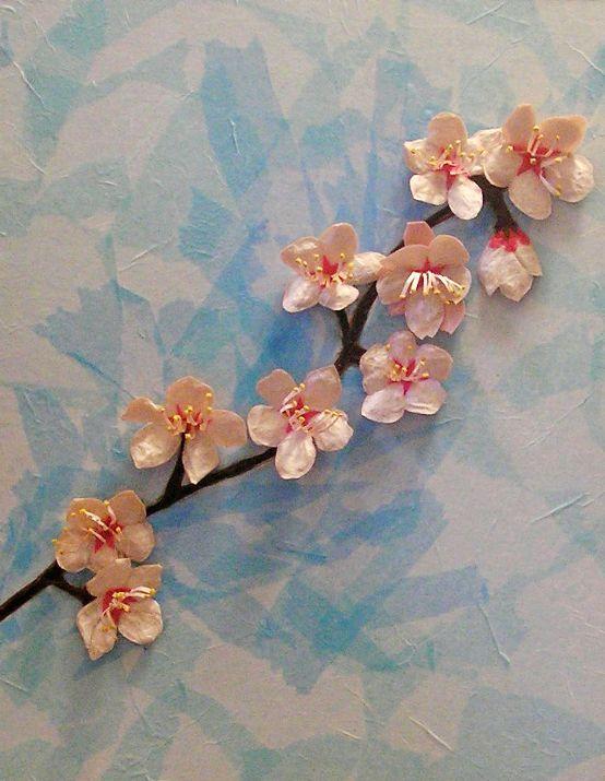 cherry blossom japanese art. japanese art cherry blossoms