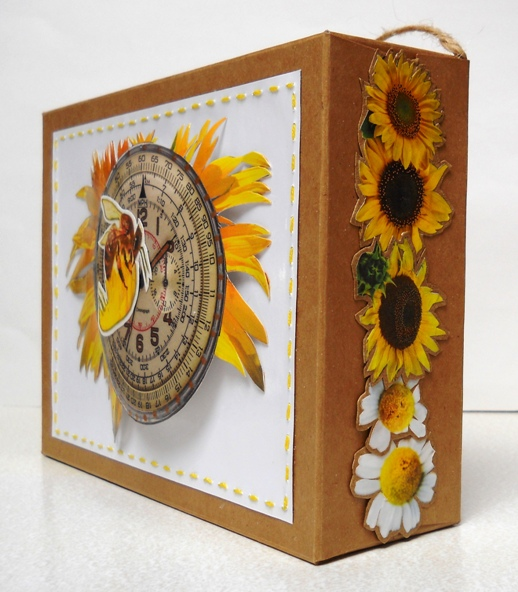 Eco Art 11 Cardboard Box SunBee 02 2019cz