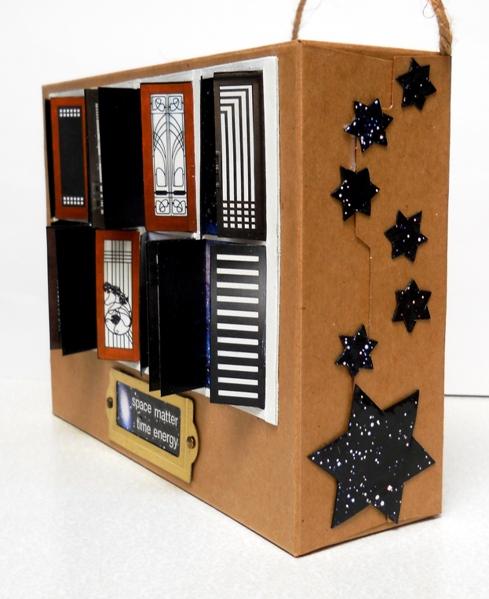 Eco Art 12 Cardboard Box 02 Stars 2019cz