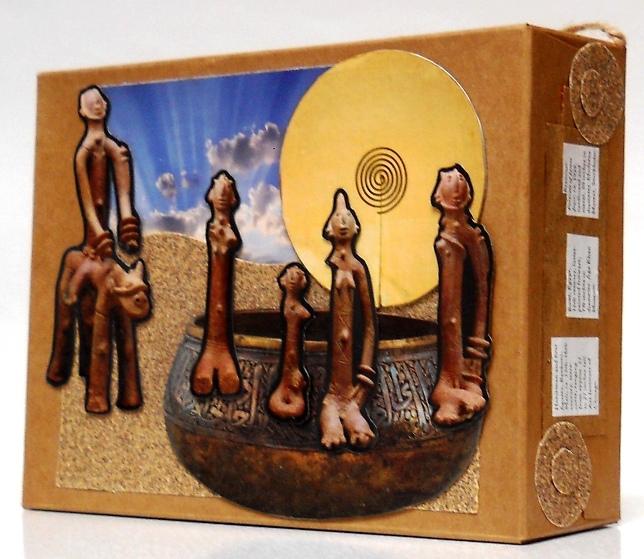 Eco Art Cardboard Box 07 04 2019cz