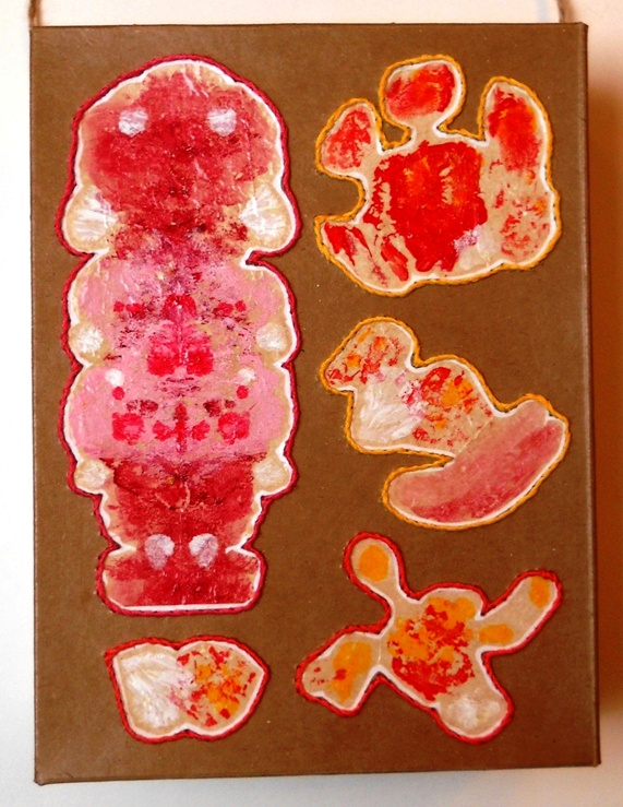 Eco Art Cardboard Box Squiggles 01cz