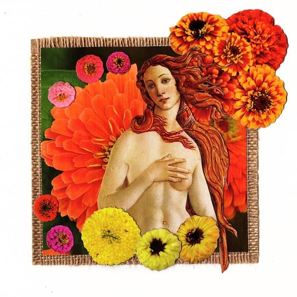 Eco Art Flower Goddess 2019 01cz
