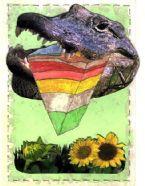Altered Postcard 11cz