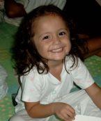 Amanda the always smileing child
