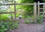 Baboo country walk gate