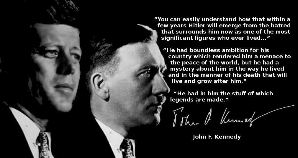 JFK quote on AH