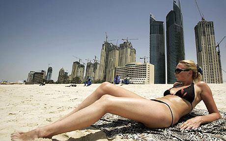 Beach @ dubai 2009 ... (Click to enlarge)