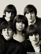 Beatles Michelle Obama Bangs