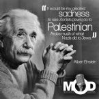 albert einstein palestine quote