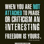 praise quotes criticism