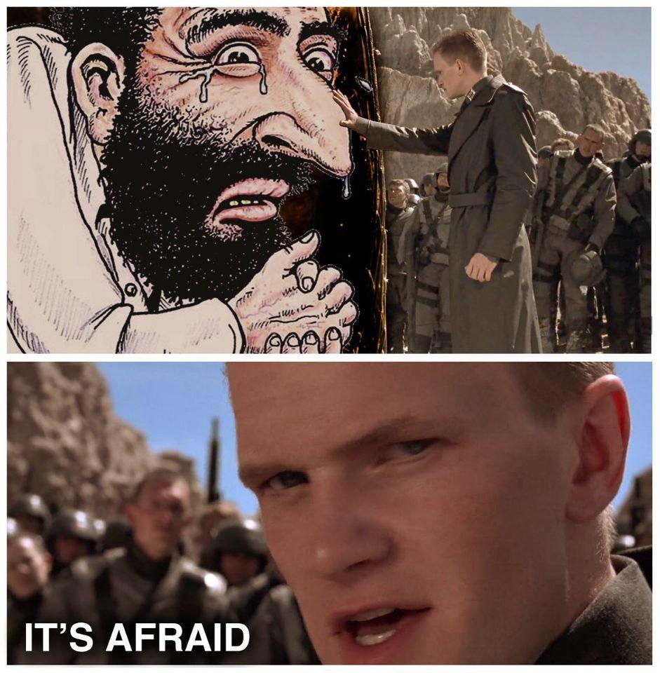 itsafraid