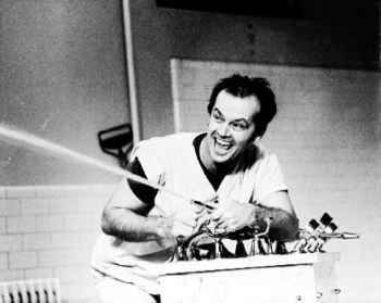 10101574A Jack Nicholson One Flew Over the Cuckoo s Nest Posters uploaded to CureZone by trapper/kcmo