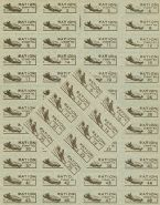 bf gas ration stamps carrier plane