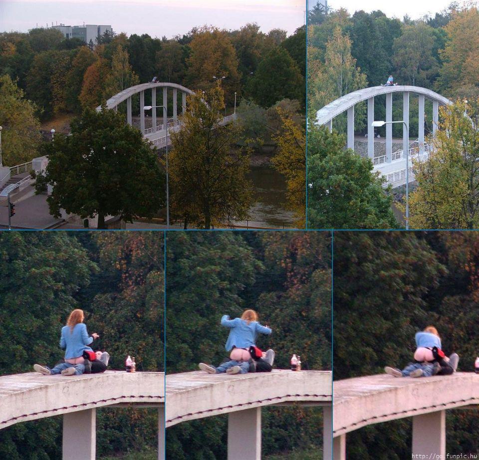 abusing bridges