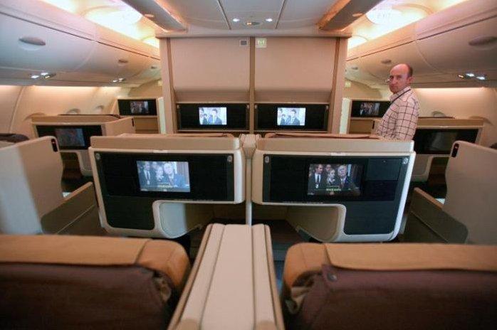 Airbus A380 10 Cinema