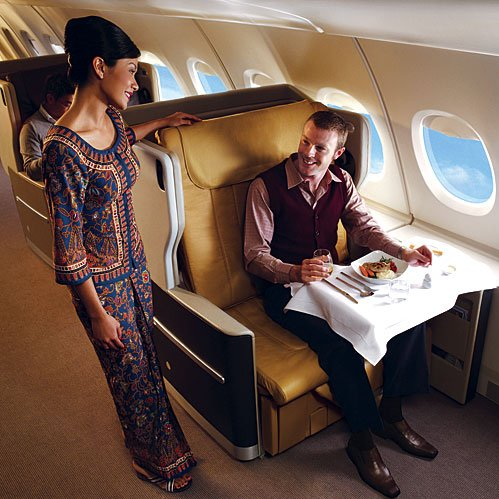 Airbus A380 First Class service