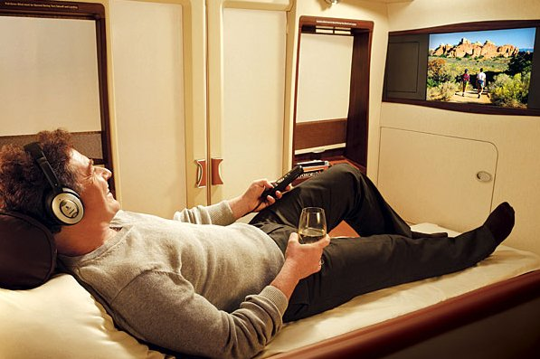 Airbus A380 Private Room With TV