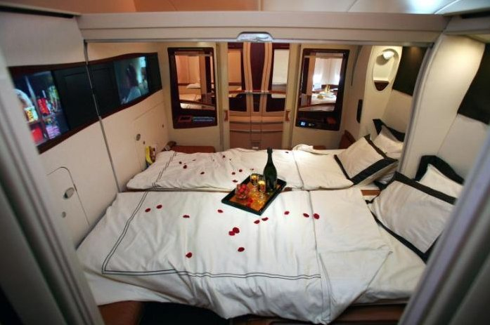 Airbus A380 Room For Sleeping