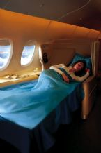 Airbus A380 First Class beds