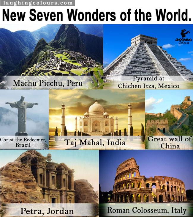 Can You Name The Wonders Of The World - Wonders
