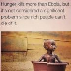 Ebola and Hunger
