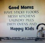 Good moms and happy kids