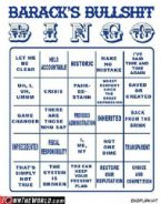 Baracks BS Bingo
