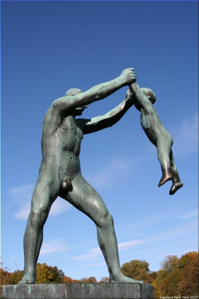 Vigeland Sculpture Park part of Frogner Park Oslo� ... (Click to enlarge)