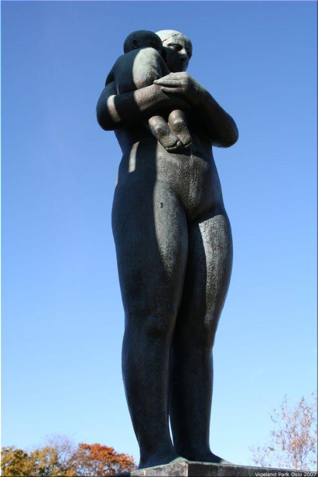 Vigeland Sculpture Park part of Frogner Park Oslo 2007 014