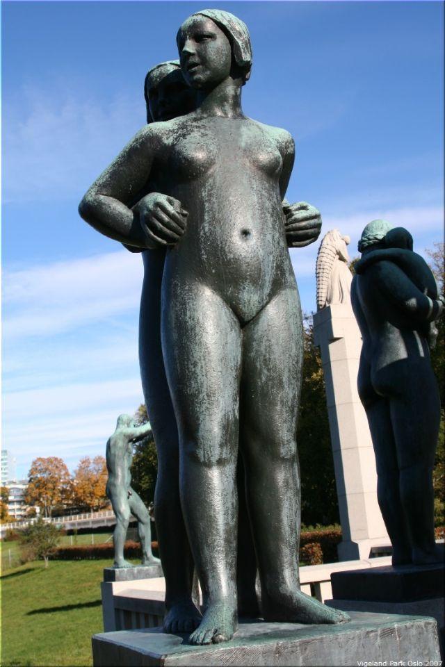 Vigeland Sculpture Park part of Frogner Park Oslo 2007 016