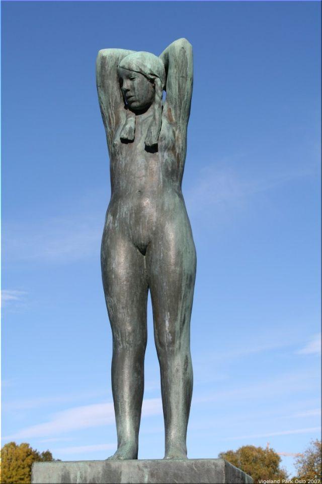 Vigeland Sculpture Park part of Frogner Park Oslo 2007 019