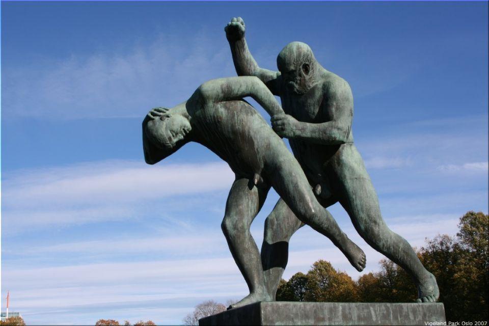 Vigeland Sculpture Park part of Frogner Park Oslo 2007 025