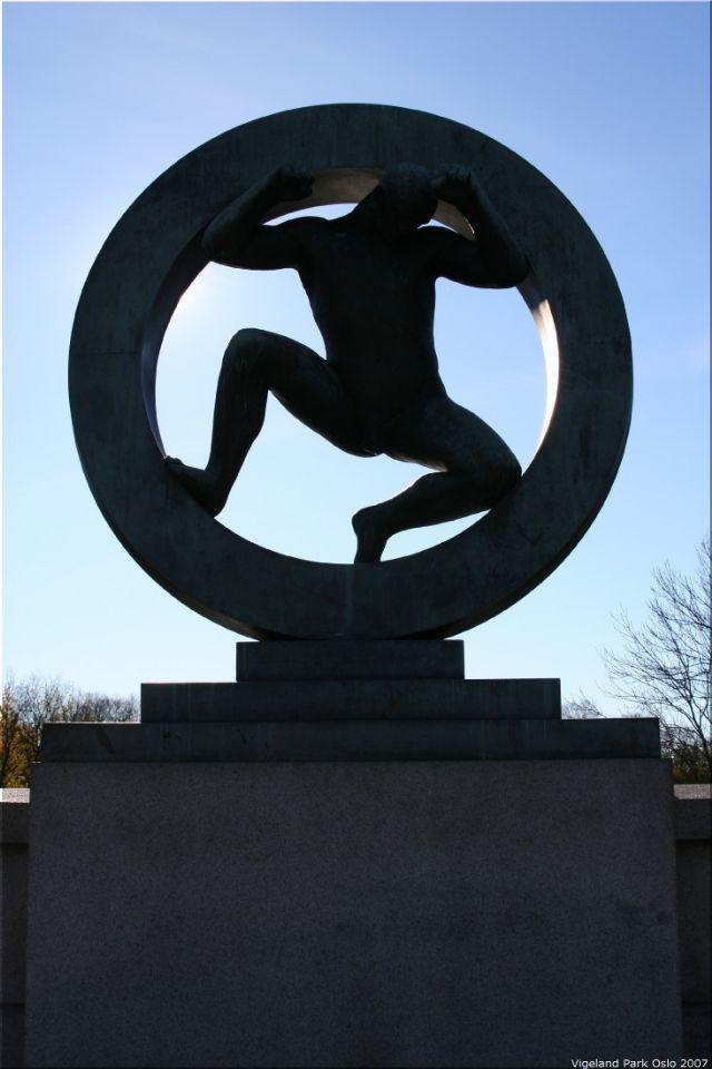 Vigeland Sculpture Park part of Frogner Park Oslo 2007 031