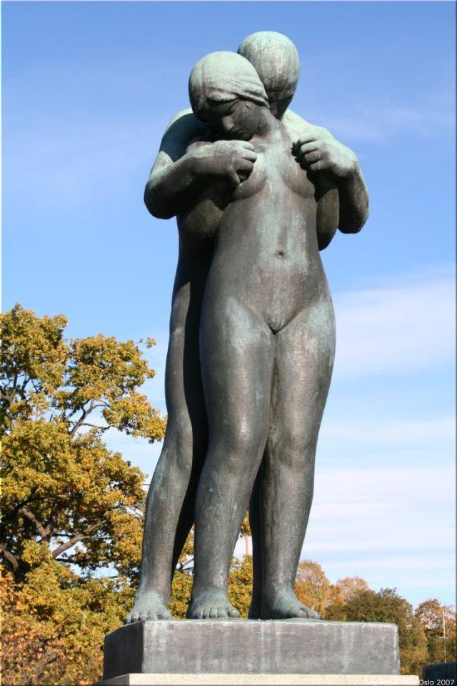 Vigeland Sculpture Park part of Frogner Park Oslo 2007 035
