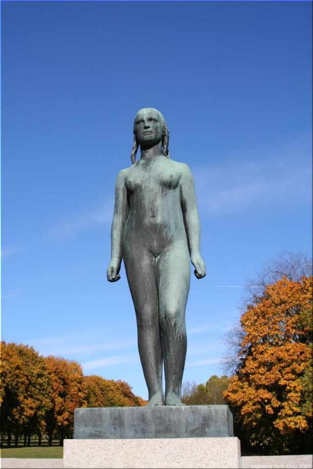 Vigeland Sculpture Park part of Frogner Park Oslo 2007 037