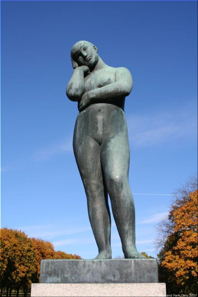 Vigeland Sculpture Park part of Frogner Park Oslo 2007 038